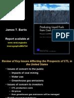 2009 RMCMI Producing CTL - Liquid Fuels From Coal - James T. Bartis