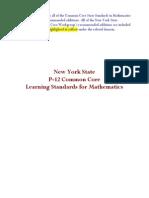 p 12 Common Core Learning Standards Mathematics Final