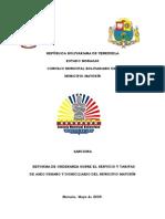 REFORMA DE ORDENANZA SOBRE EL SERVICIO_Y_TARIFAS_DE_ASEO_URBANO_Y_DOMICILIARIO_DE_MATURIN