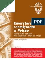 Emerytura reemigranta w Polsce (USA) - ebook