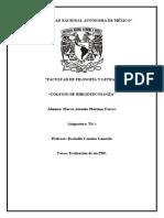 """""""Evaluación de un PDF"""""""