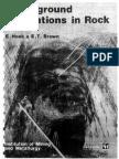 Hoek,Brown Underground Excavation in Rock