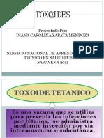 Eficacia de Los Toxoides