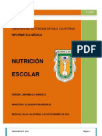 Nutricion Escolar