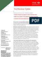 Peru Elections Update 2