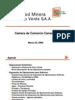 Presentacion  Cerro Verde