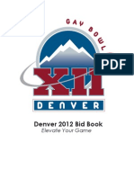 Denver Bid to Host Gay Bowl XII