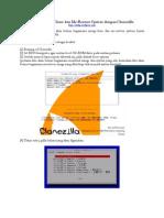 Belajar Meng-Clone Dan Me-Restore System Dengan Clonezilla