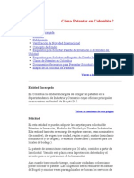 Cómo Patentar en Colombia