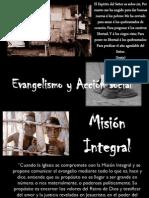 Evangelismo y Acción social