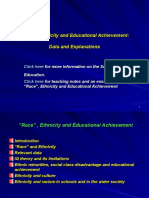 Ethnicity and Educational Achievement