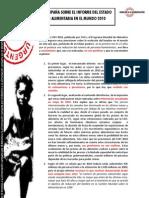 Valoración Informe SOFI 2010