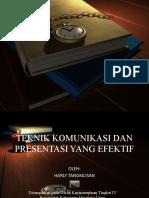 Teknik Komunikasi Dan Presentasi Yg Efektif