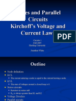 Lecture 3 Series and Parallel KVL KCL