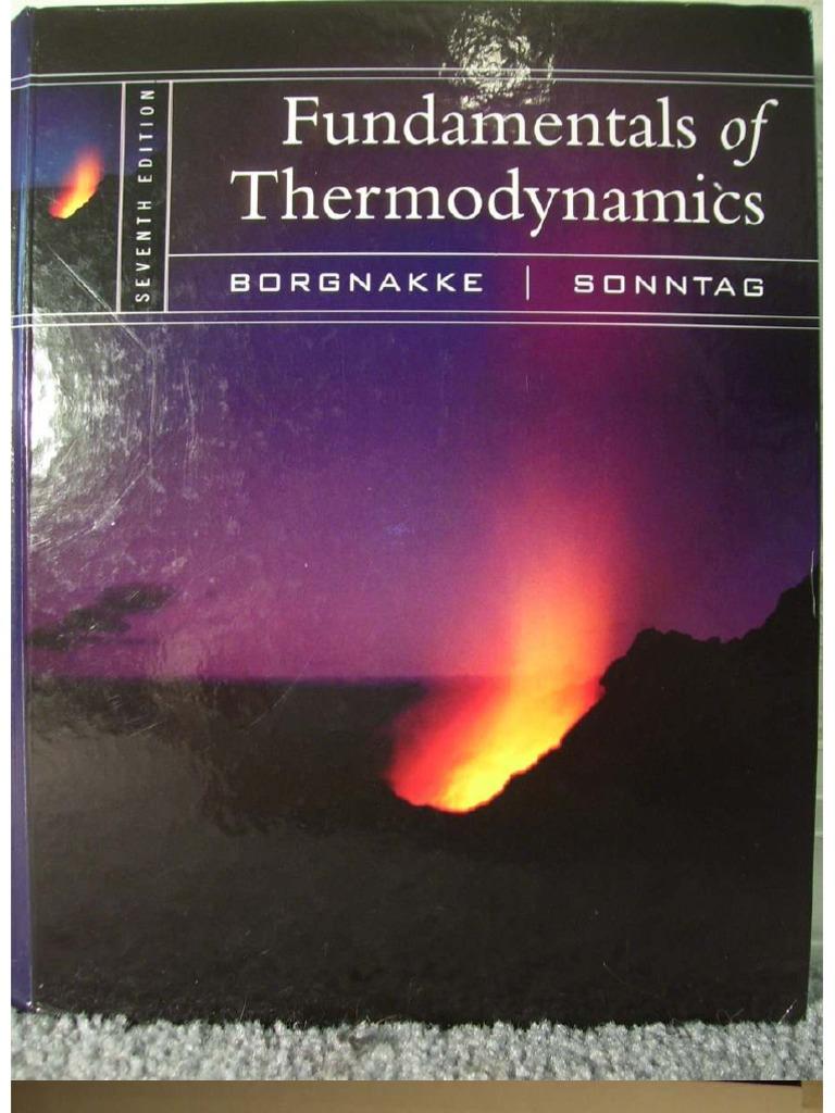 fundamentals of thermodynamics 7th edition borgnakke sonntag ebook rh scribd com Calculus 7th Edition Chemistry 7th Edition