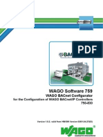 Handbuch BACnet Configurator e
