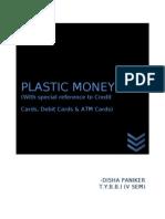 45015936 Doc1 Final Plastic Money d