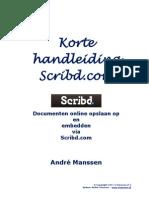 Korte Handleiding Scribd.com