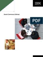 IBM Social Commerce Whitepaper