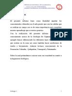 Informe Geologico de Otuzco Parte Alta