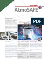 AtmoSafe Kundenzeitung/customer newspaper Memmert