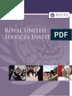 RUSI Brochure