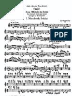 Stravinsky - Histoire Du Soldat (Suite Arr. Clarinet, Violin and Piano)
