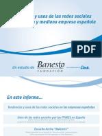 Tendencias y usos de las redes sociales en la pequeña y mediana empresa española