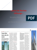 Layout Da Revista - InDesign