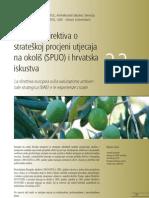 Evropska Direktiva o strateskoj procjeni uticaja na okolis