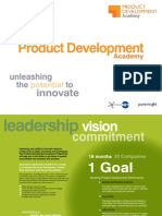 Innovation Academy - Product Development Academy