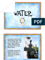 Water Power Point Presentation for NSW Years 5 & 6