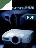 Sony Vpl Fe100m Specs