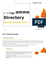 Course Directory