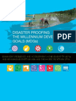 Disaster Proofing of MDG