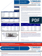 DERIVATIVE REPORT FOR 1 June - MANSUKH INVESTMENT AND TRADING SOLUTIONS