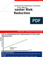 Introduction to Risk Reduction in Diasters