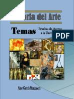 HISTORIA DEL ARTE TEMAS SELECTIVIDAD