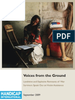 Voices From the Ground-Report