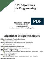 Dynamic Programming - Algorithm