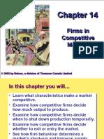 Perfectly Competitive Market - Micro Economics