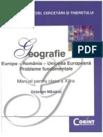Octavian Mandrut - Geografie Manual Pentru Clasa 12