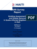 The Construction Economy in Haiti  James Murphy Senior Essay