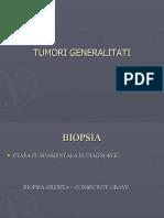 tumori generalitati Nicolescu