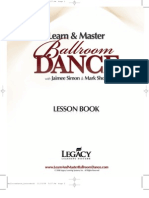 Dance Lesson Book