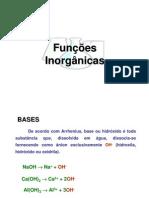 funçoes inorganicas - sais