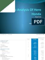 Ratio Analysis of Hero Honda