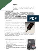 YDT553 Fuel Analyser