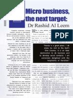 Interview with Dr. Rashid Al Leem, Director-General, Hamriyah Free Zone