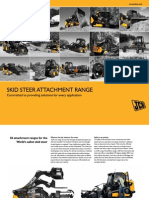 JCB Skid Steer Attachment Range (US) Mar 2011